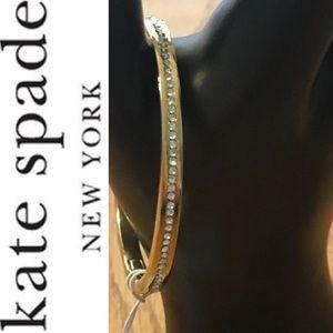 NEW Kate Spade Ring It Up Pave Bangle Bracelet
